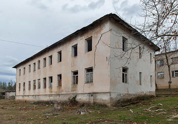Un istituto del periodo sovietico per bambini in Georgia, ora chiuso (Foto © Onnik Krikorian)
