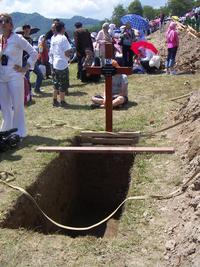 Una croce (foto Mario Fiorin)