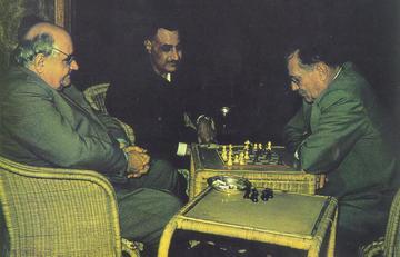 Una partita a scacchi con Tito