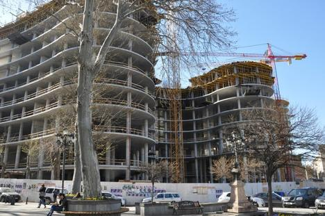 Uno dei cantieri in centro città - Mari Nikuradze /OC Media