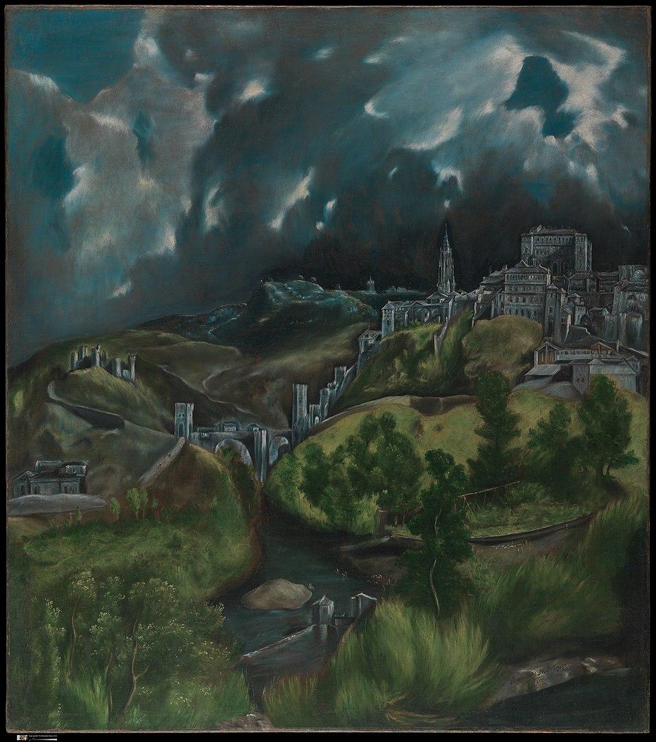 Veduta su Toledo, El Greco (CC license)