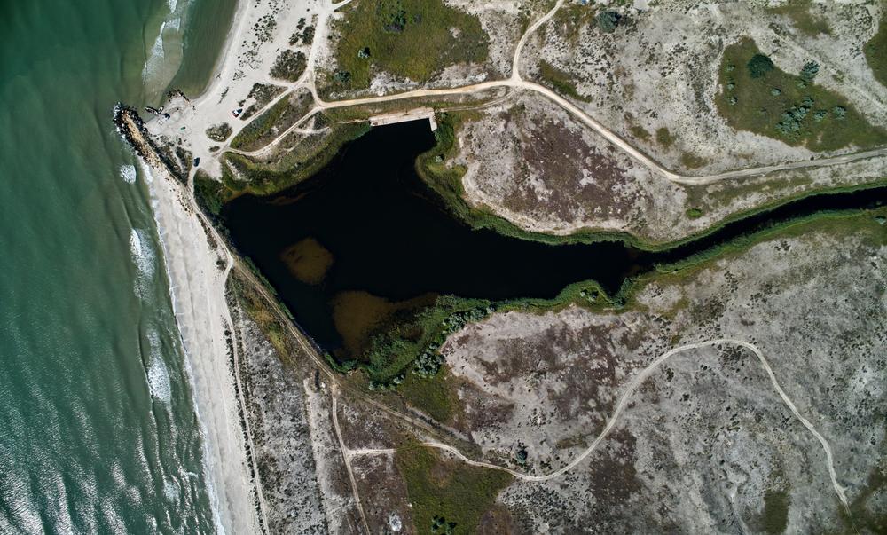 Vista aerea dell'area protetta di Vadu - aaltair/Shutterstock