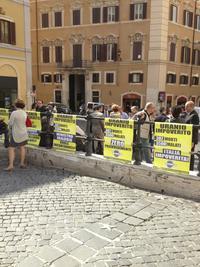 La manifestazione di Roma del 5 giugno - per concessione di gruppo Vittime uranio impoverito