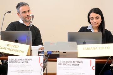 Walter Quattrocchi e Fabiana Zollo