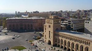 Yerevan, Piazza della Repubblica (Foto Ilenia Santin)