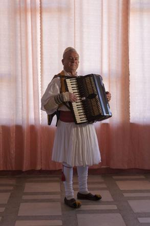 Ylli Muço, foto di Camilla de Maffei