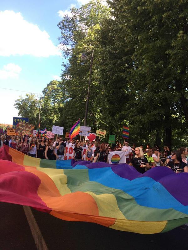 Zagreb pride (foto F. Rolandi)
