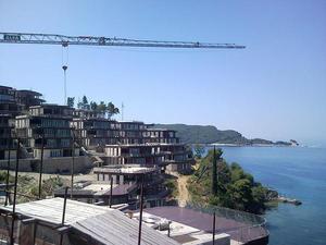 Il complesso di punta Zavala (foto L. Zanoni)