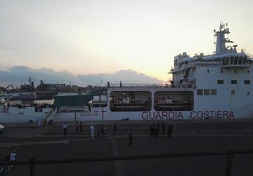 Catania, nave Diciotti 25 agosto 2018 - foto © Laura Silvia Battaglia.jpg