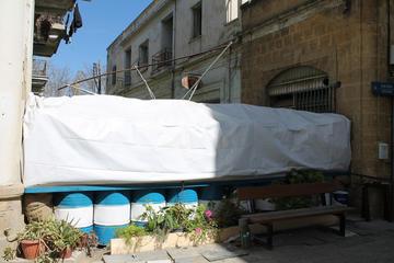 Cipro, linea di confine a Nicosia - foto Alan Samuel Flickr.com.jpg