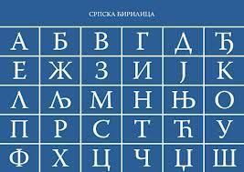 Alfabeto cirillico