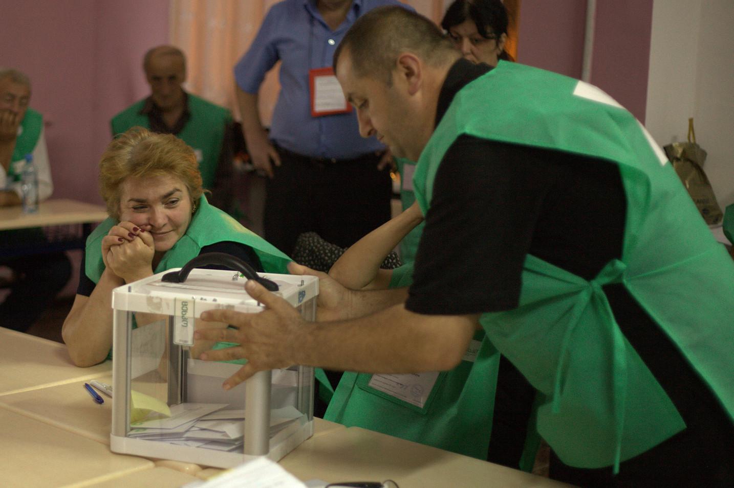 Elezioni 2012 a Tbilisi