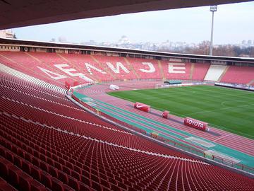 Lo stadio della Stella Rossa - Wikimedia commons