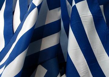 Bandiera greca, foto di Supivas - Flickr.com
