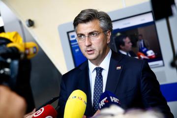 Il Primo ministro croato uscente, Andrej Plenković