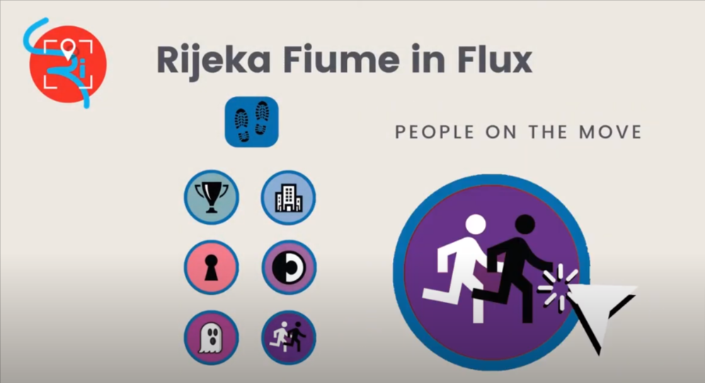 People on the move - App Rijeka/Fiume in flux!