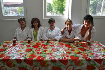 Cooperativa Insieme, Bratunac, Bosnia. Lavoratrici in pausa