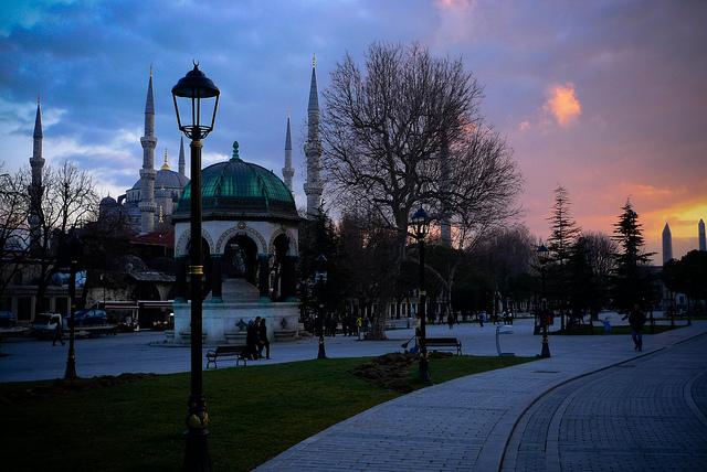 Moschea blu, Istanbul - foto di Scott Dexter Flickr.com.jpg