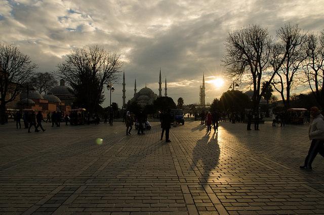 Istanbul, nei pressi della Moschea Blu - foto di Marco Sacchi Flickr.com.jpg