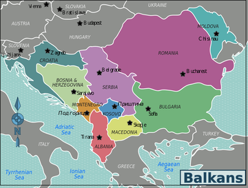 Balcani - Wikimedia commons
