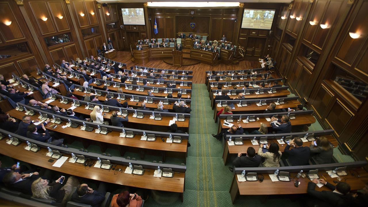 Il parlamento di Pristina