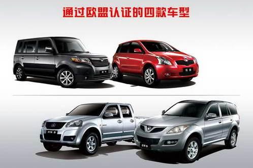 Auto prodotte dalla Great Wall