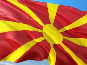 Bandiera macedone - Pixabay