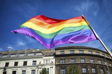 Bandiera arcobaleno, simbolo del movimento LGTB - Pixabay