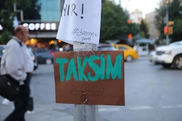 Istanbul piazza Taksim - foto di Arzu Geybullayeva per Obc