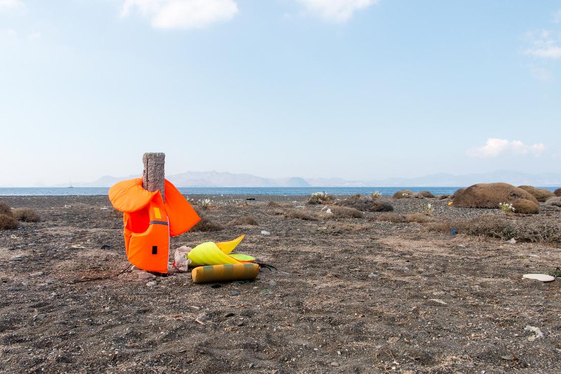 Giubbotti salvagente, Grecia - foto di Ann Wuyts - Flickr.com.jpg