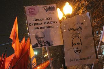 Proteste del 5 marzo a Mosca, foto di Giorgio Comai