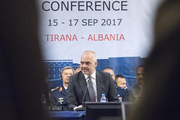 Edi Rama - Chairman of the Joint Chiefs of Staff/flickr