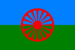 Bandiera del popolo Rom