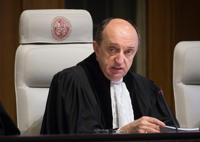 Giudice della Corte Internazionale di Giustizia - foto ICJ.jpg