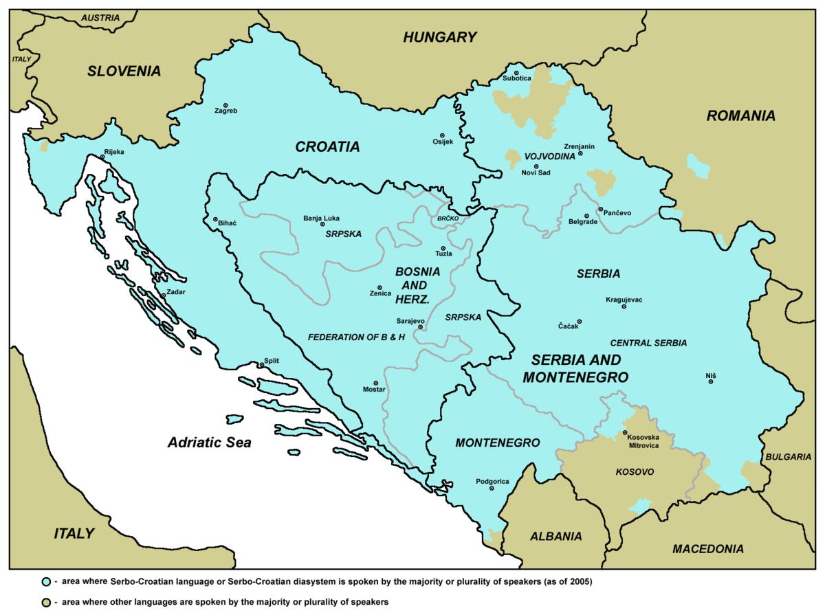 Serbo-croato-bosniaco-montenegrino