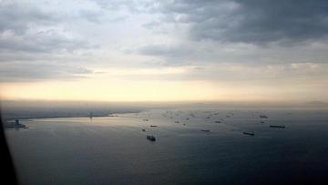 Bosforo, vista aerea, foto di JJ Merelo - Flickr.com.jpg