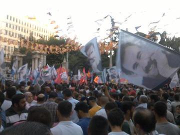 Istanbul, manifestazioni del 20 luglio 2015 (dal web)