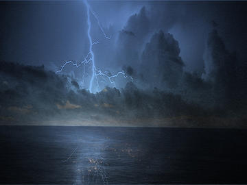 Tempesta elettrica, foto di ervlg77 -  Flcikr.com