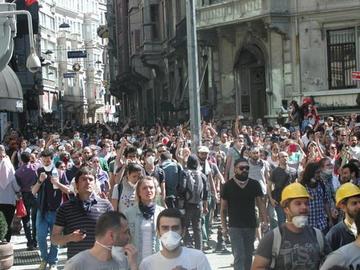 La Turchia in rivolta, giugno 2013 - foto di Fazila Mat per Obc