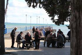 Sukhumi, seaside (photo by Giorgio Comai)