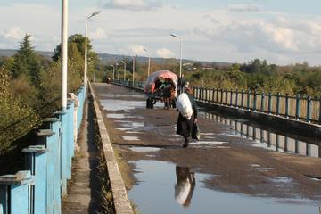 The Inguri bridge