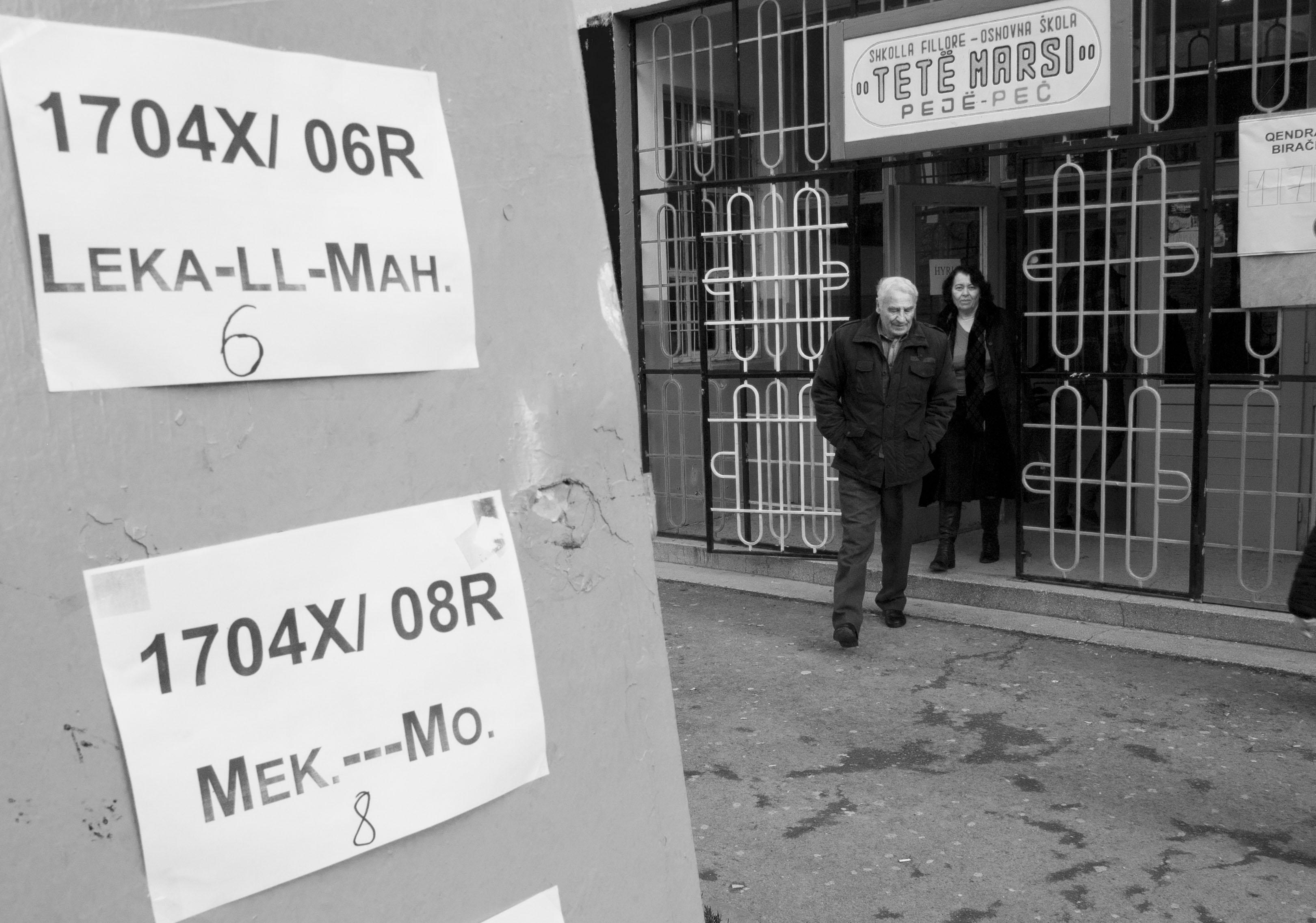 Kosovo, election day - F.Martino