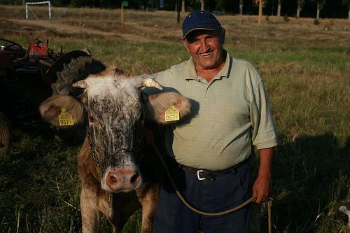Macedonian farmer