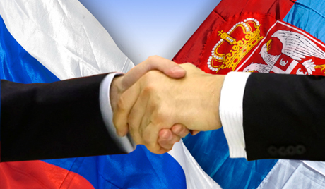 Russia and Serbia