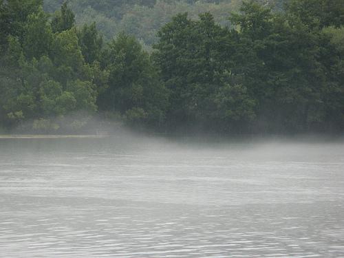 Nebbia sull'Una (Foto Sanja, Flickr)
