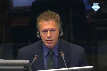Mevludin Sejmenovic at the Hague