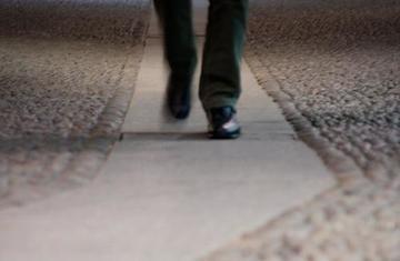 Uomo che cammina