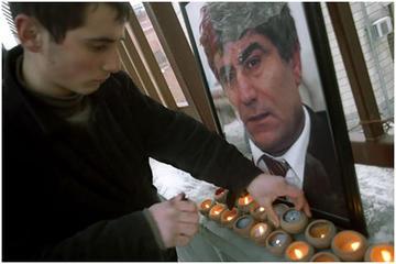 In memoriam di Hrant Dink (foto Onnik Krikorian)