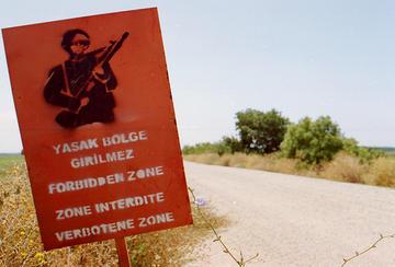 Confine tra Turchia e Grecia