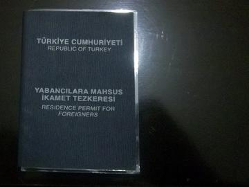 Mussa Khan. Turkish residence permit for foreigners - P.Martino
